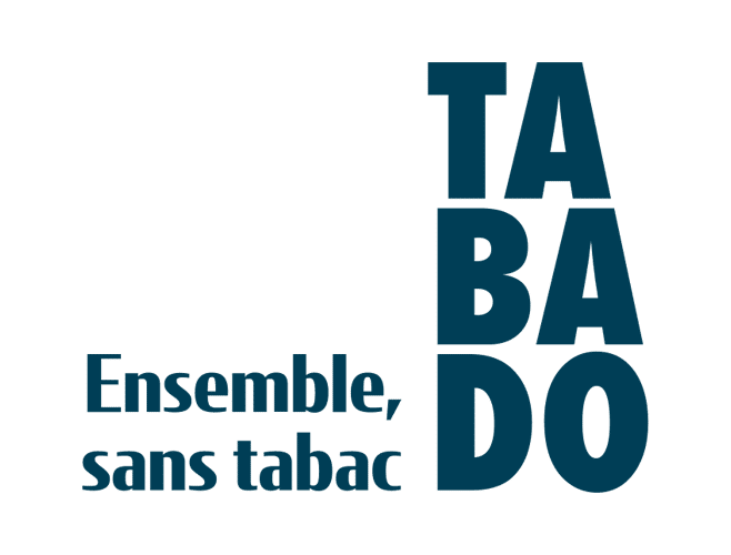 Logo TABADO - ensemble, sans tabac