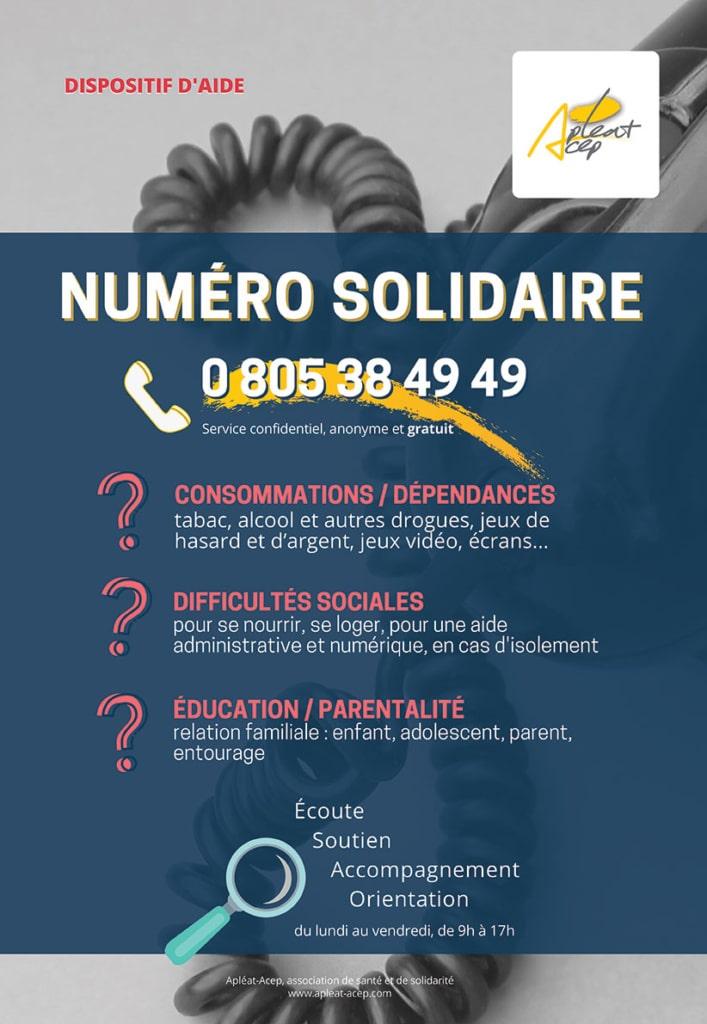 Numéro solidaire