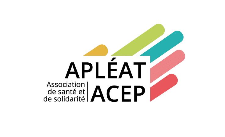 Le nouveau logo de l'Apléat-Acep